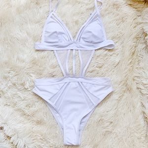 Other - NWOT! White One-piece Swimsuit